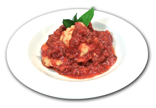 ravioli au fromage sauce jardinière